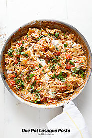 One pot lasagna Pasta