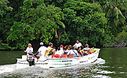 Boat Ride over Madu River