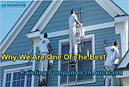 Why We Are One Of The Best Painting Companies In Auckland