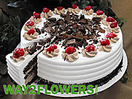 Choose The Best Pick from Thousands of Cakes from Way2flowers.com