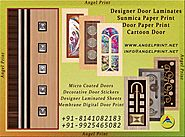Get the best Designer Door Laminates and Sunmica Paper Print