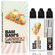 BAM BAMS CANNOLI 90ML - EJUICE AVENUE