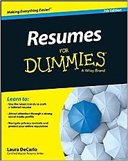 Resumes For Dummies Paperback – August 3, 2015