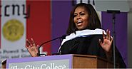 You'll Be in Awe of Michelle Obama's Last Commencement Speech as First Lady