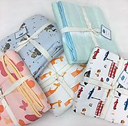 Shop Baby Muslin Blankets Collection at Little West Street