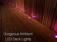 How LED Deck Lights Can Change Your House Interiors?
