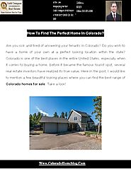 Best Range of Colorado Homes For Sale