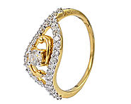 Diamond Ladies Ring / Engagement / DLR_31 //
