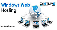 Get windows shared web hosting at affordable price