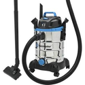 VacMaster - 6 Gal. Wet/Dry Vacuum - Black/stainless-steel