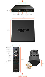 Amazon Fire TV** (HD Antenna Bundle)