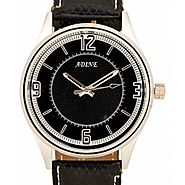 Adine Admirable Black Analog Sport Expensive Watches