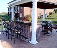 Get Online Outdoor Living Area Pool And Patio