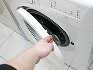 Walkthrough odor in the washing machine