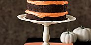 Chocolate Pumpkin Cake and Cupcakes