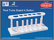 Laboratory Test Tube Stand 6 Holes | DESCO