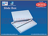 Polystyrene Slide Boxes Suppliers | DESCO