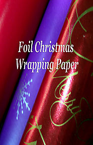 Foil Christmas Wrapping Paper