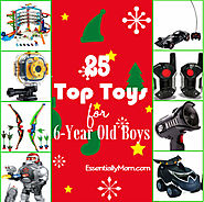 25 Top Toys for 6 Year Old Boys
