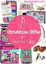 25 Christmas Gifts for Tween Girls under $25