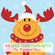Cool Christmas Gifts for Preschool Boys