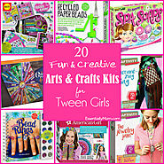 20 Fun & Creative Craft Kits for Tween Girls