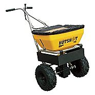 Meyer Hot Shot Professional Walk Behind Spreader - 70-Lb. Capacity, 1.3 Cu. Ft. Hopper, Model# 38180