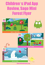 Children's iPad App Review, Sago Mini Forest Flyer