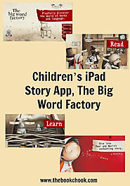 Children's iPad Story App, The Big Word Factory