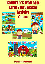 Children's iPad App Review, Farm Story Maker Activity Game
