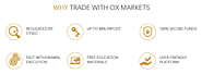OX Markets provides lucrative benefits for traders