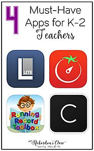 4 Must-Have Apps for Elementary Teachers - Mrs. Richardson's Class