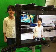 Global storytelling with a green screen and iPads - Innovation: Education