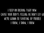 One Direction Wolves |1D | Lyrics (Original Audio) #GoodQuality