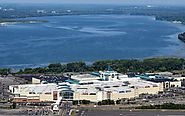Destiny USA mall located right in front of the Onondaga Lake?!