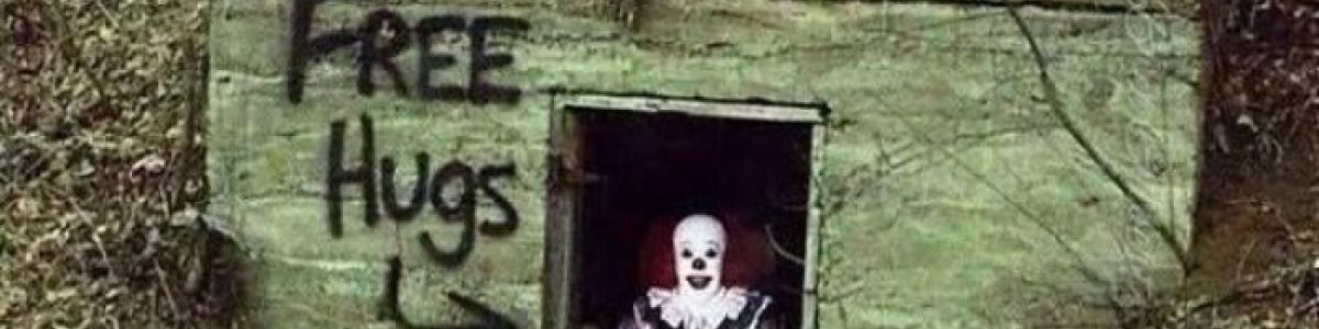 Headline for Top 10 Scariest Clown Sightings