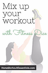 Mix Up Your Workouts with Fitness Dice - Home Workout Essentials
