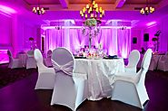 Luxury Chair Cover Rentals for Weddings in BC