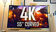 Samsung 55'' curved tv