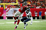 Julio Jones, WR for the Atlanta Falcons