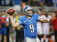 Matthew Stafford, QB for the Detroit Lions