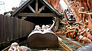 Splash Mountain, Magic Kingdom, Walt Disney World Orland, Front Seat POV