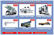 Concrete Pumps For Sale from Concrete Pump Depot