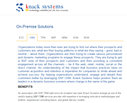 On-Premise Solutions by Knack Systems