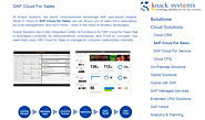 SAP Cloud for Sales Integration by Knack Systems