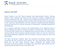 SAP Hybris Implementation Solution by Knack SYstems