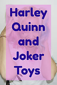 DC Super Heroes Harley Quinn and Joker Toys and Action Figures - Kims Five Things