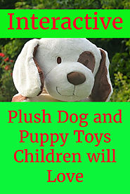 Interactive Plush Dog and Puppy Toys for Children - Kims Five Things