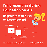 FREE #GoogleEdu PD in Your PJ's! #GoogleEduOnAir 2016 | Shake Up Learning