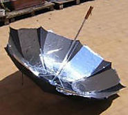 Umbrella Solar Cooker